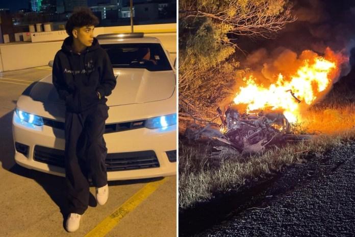 Tiktok-brugeren Gabriel Salazar er sammen med tre andre personer omkommet i en trafikulykke. Bilen, som Gabriel Salazar formentlig var føren af, ville ikke stoppe for politiet.