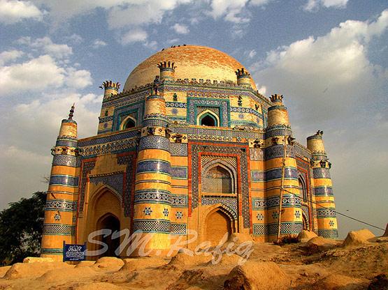 Shrine of Bibi Jawindi Uch Sharif, Pakistan