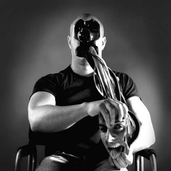 Feelings Of A Photographer, Bizarre Photo Manipulation of Self Portrait