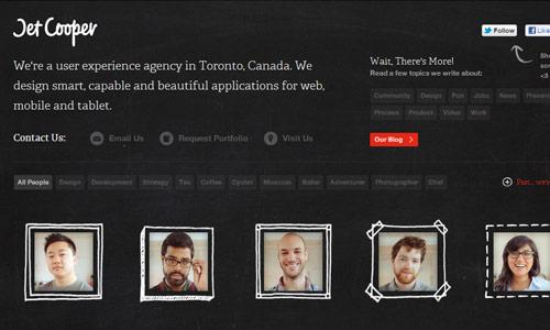 jetcooper in 30 Excellent Black Website Designs for Inspiration