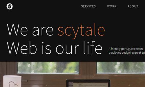 Scytale - Minimal Design