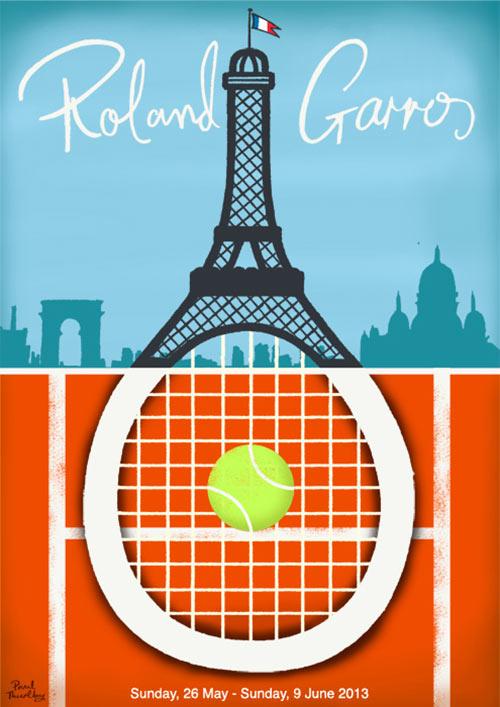 Roland Garros Poster