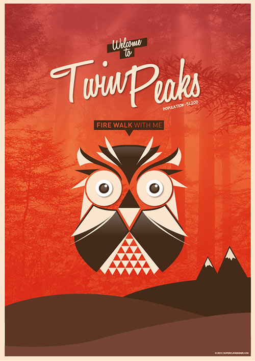 Twin Peak Poster