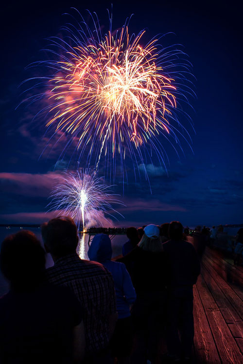 Fireworks Display for Canada Day