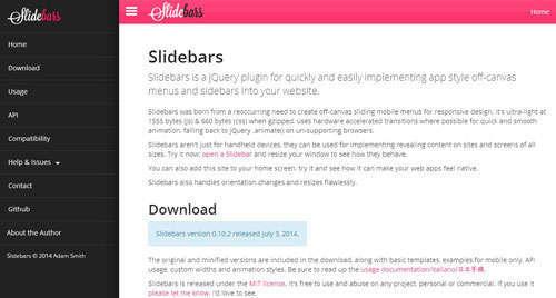 Slidebars