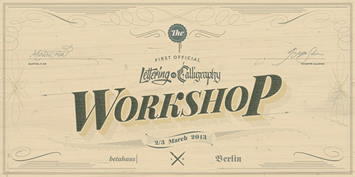 Lettering vs. Calligraphy - Official Workshop