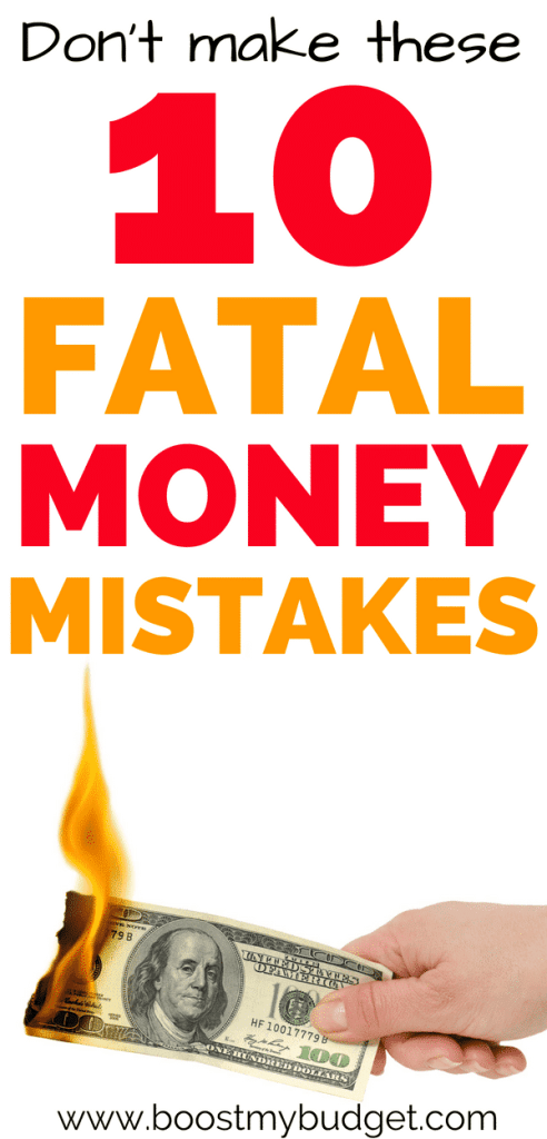 These 10 little-known personal finance mistakes could be ruining your finances without you even realising! Follow these money saving tips to take control of your money now!