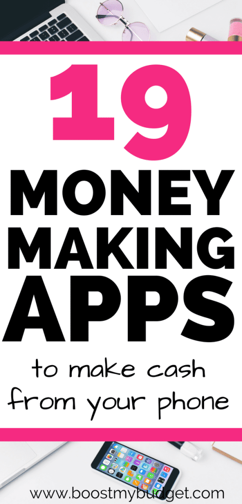 Money making apps are such an easy and fun way to make extra cash! Here are the best apps to make money for iPhone and Android. Get paid to play games, answer surveys, take pictures and more!