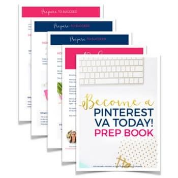 Pinterest VA free prep workbook