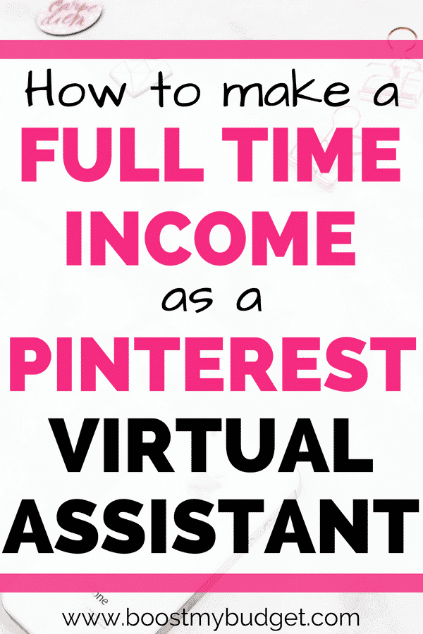 As a Pinterest VA (Virtual Assistant), you could score your first clients in as little as a week and earn enough extra money to quit your job in just a couple of months! It's true! Click through for testimonials and interviews with the work-at-home moms who've turned their side hustle into a full time income from home