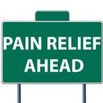 Pain Relief Signage