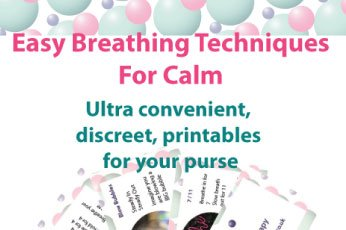 Free printable Breathing Techniques for calm