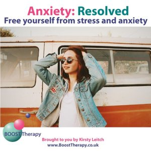 Anxiety Resolved - Woman looking happy