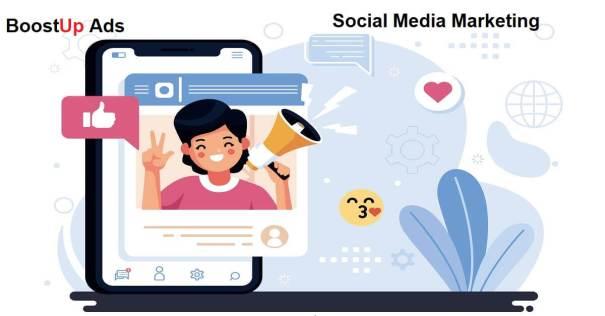 Social Media Marketing by BoostUp Ads
