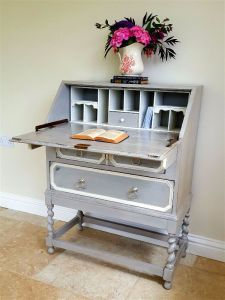 grey bureau jacobean style