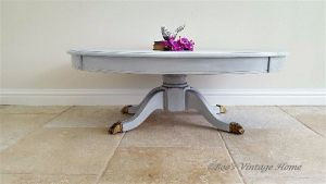 painted-grey-oval-coffee-table