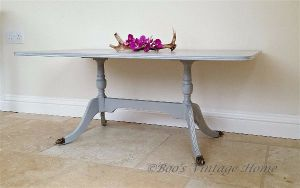 small coffee table - grey