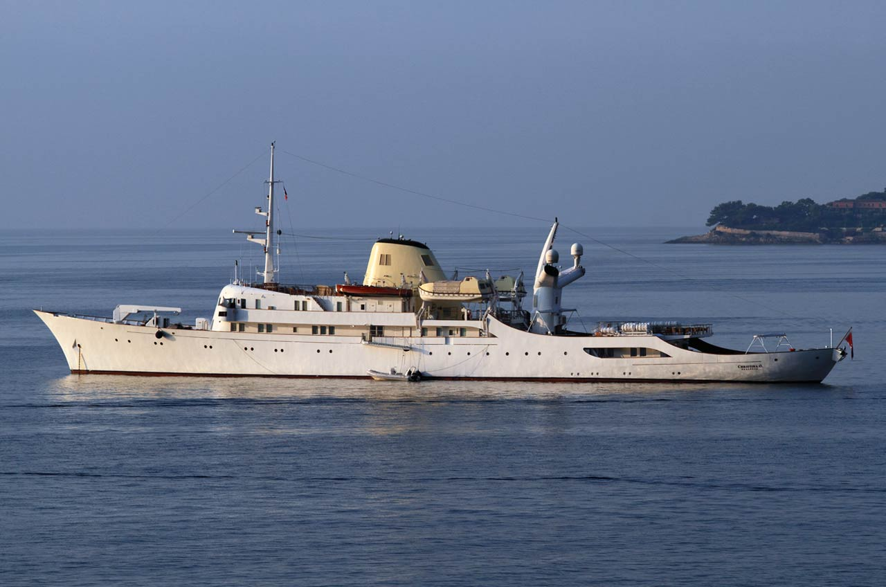Christina O Superyacht Canadian Vickers Boot Online