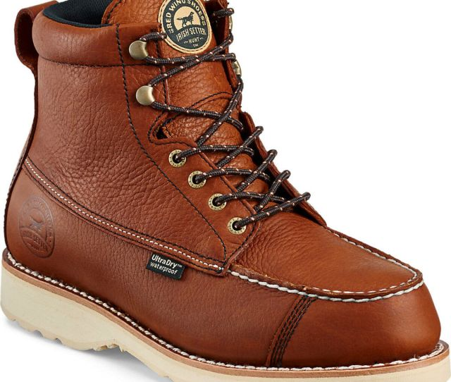 Irish Setter By Red Wing Shoes Mens Wingshooter Ultradry  Work Boots