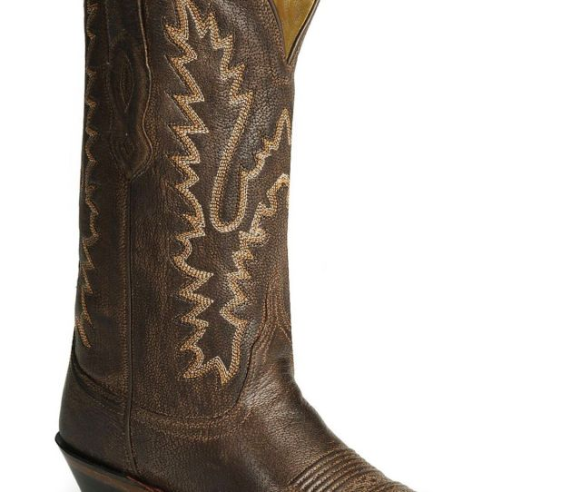 Old West Womens Fashion Western Boots Dark Brown Hi Res