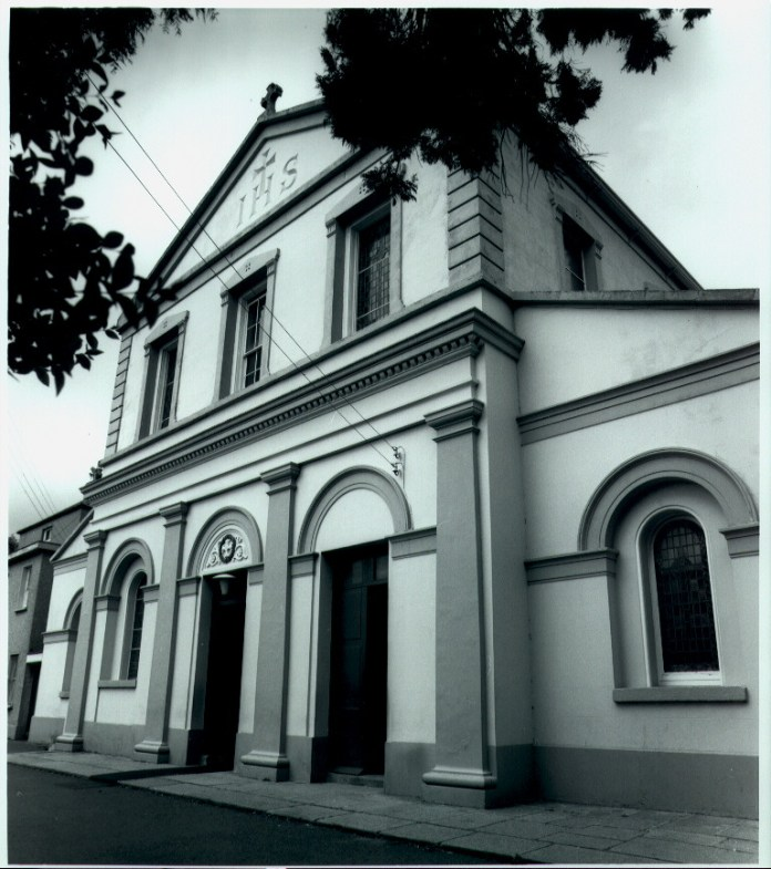 church front