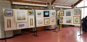 Art exhibition entries