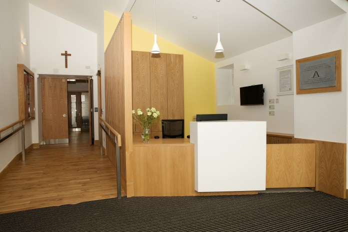 pastoral centre reception area