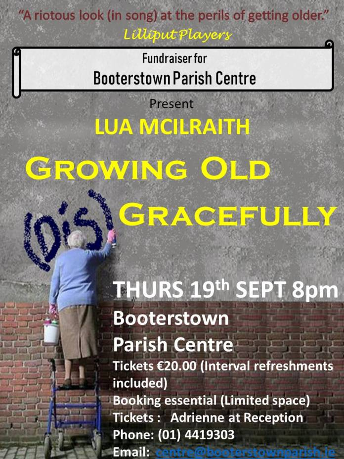 Growing Old DisGracefully flyer