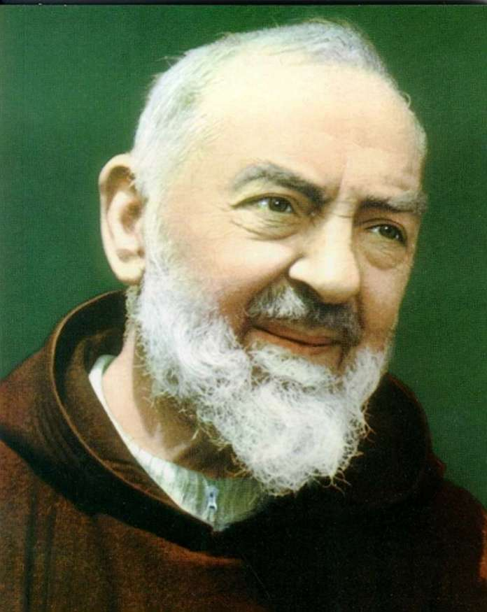 Padre Pio head shot