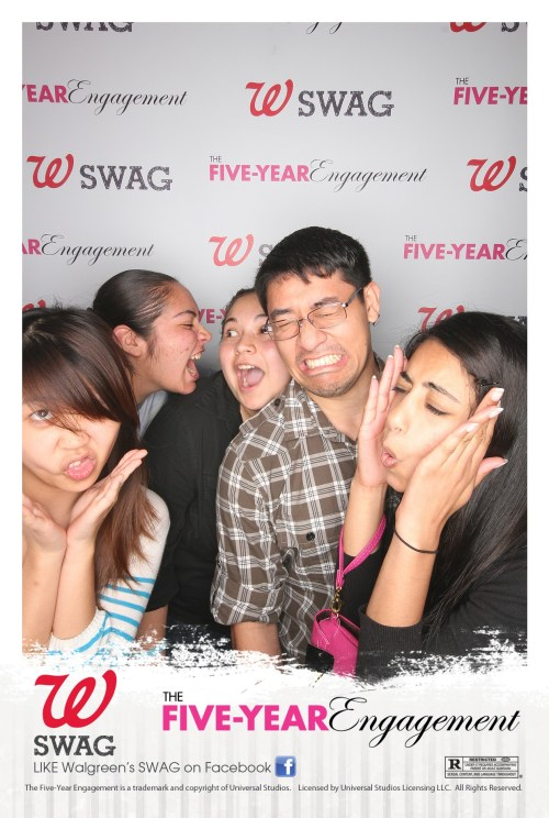 Booth 66 Texas Walgreens Premier for Five Year Engagement