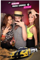 Maxim Music Lounge SXSW Photo Booth