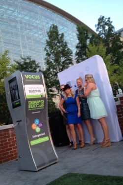 Vocus Outdoor photo booth event