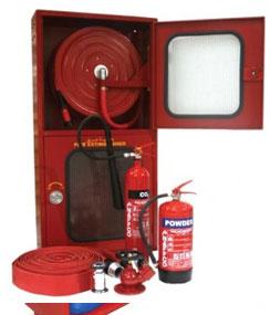 Fire Hose Reel Double Cabinet