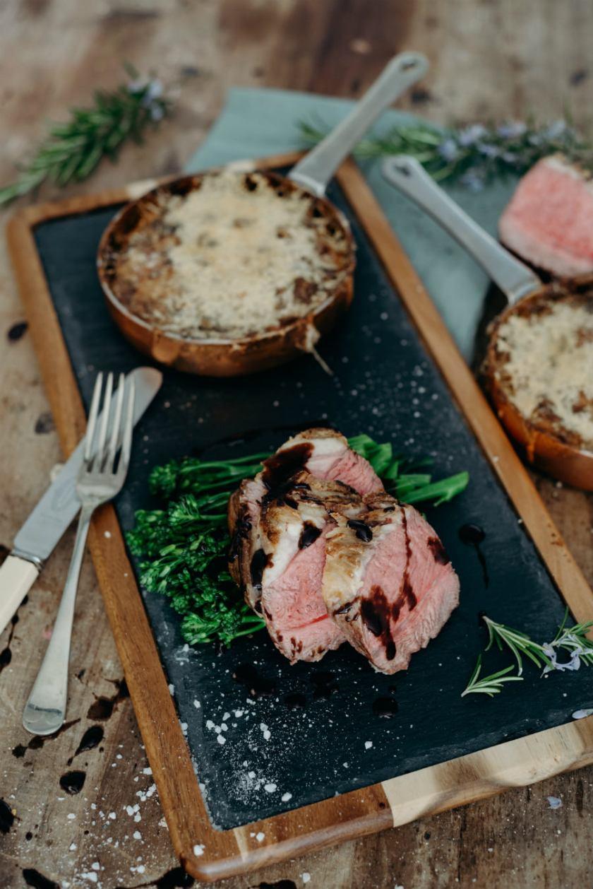 Lamb Rump Fine Dining