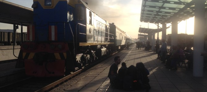 An Evening on a Trans-Siberian Train