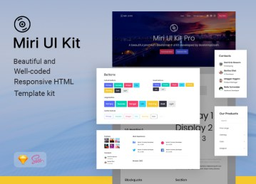 uikit miri dashboard ui kit