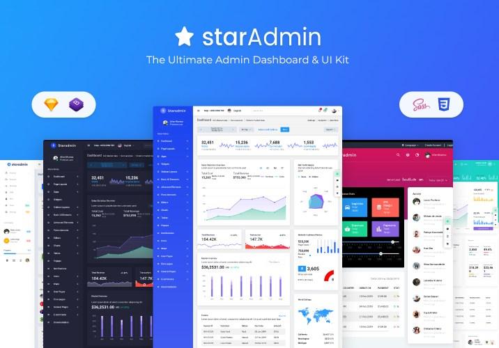 admin dashboard star admin pro
