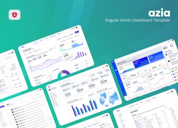angular dashboard azia