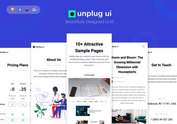 uikit unplug dashboard ui kit