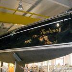 Steuerbordseite der Comfortina 38 Segelyacht