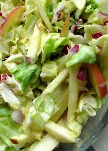 Sauerkraut Coleslaw