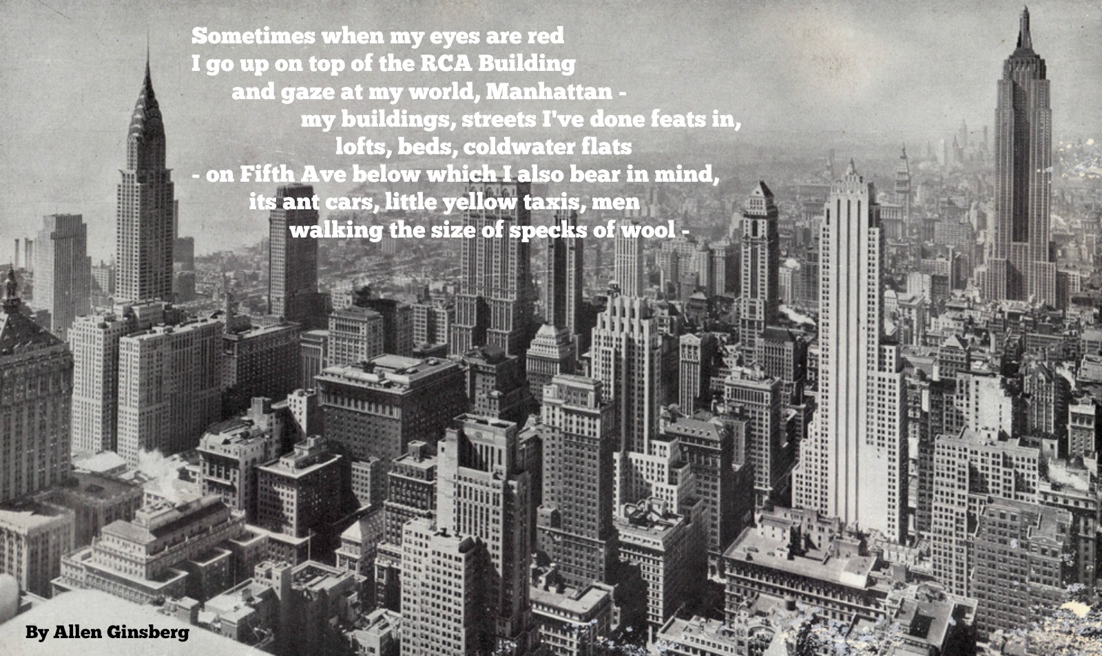 The 11 Best Poems About New York City