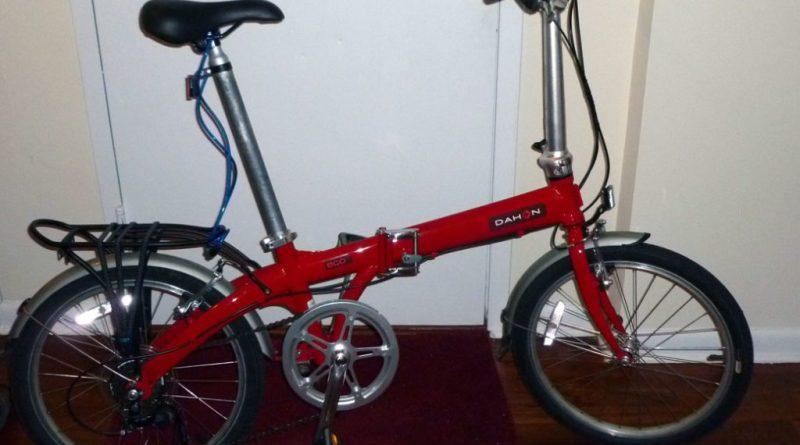 My folding commuter bike