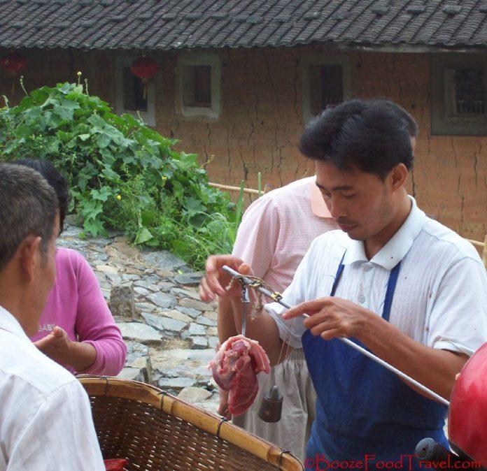 meat vendor china