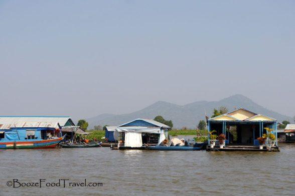 tonle sap village