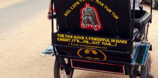 batman tuk tuk