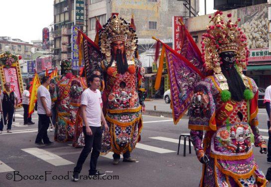 temple parade taipei