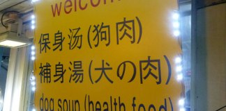 dog soup korea