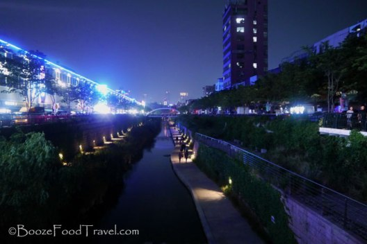 Cheonggyecheon Seoul