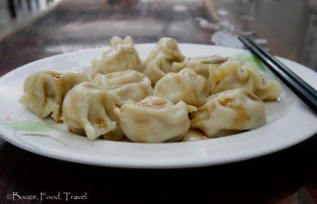 Milkfish dumplings were pretty good
